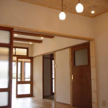築40数年のお家の自然素材での大改装